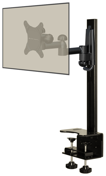 SafeCase Secure Enclosure for iPad Kiosks - With Dual Arm Stand