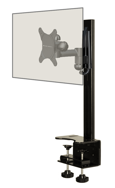 SafeCase Secure Enclosure for iPad Kiosks - With Single Arm Stand